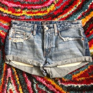 Abercrombie & Fitch harper low rise shorts size 2